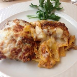 Lasagne at Baroncelli.