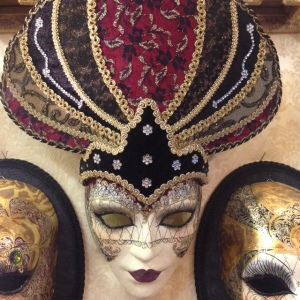 A mask so luxurious I can imagine it being commissioned by a Dogaressa.