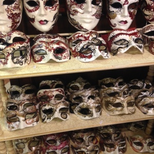 A selection of half-face masks.